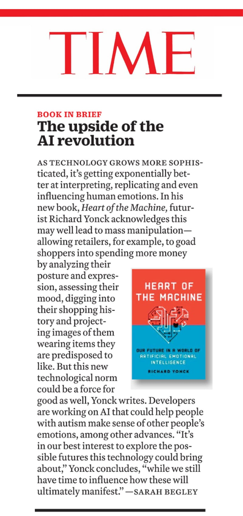 Time Magazine review