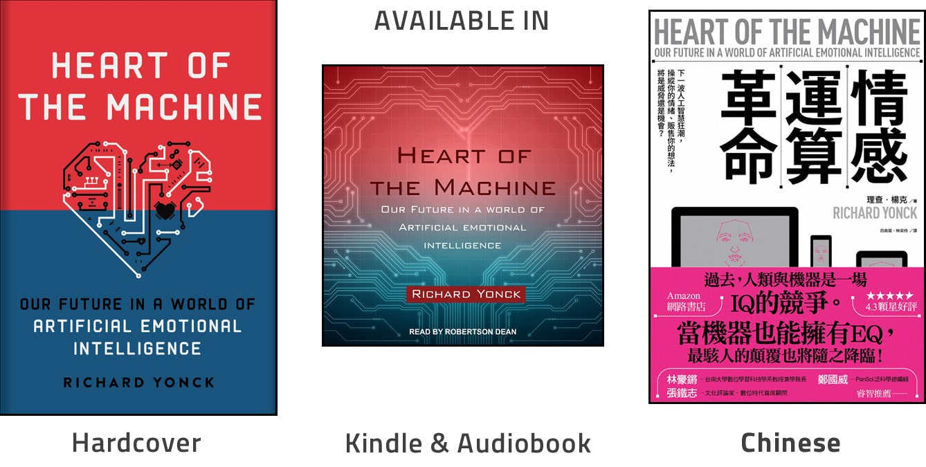 Heart of the Machine covers